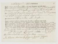 A dì 26 di aprile 1786 in Manfredonia. Ha caricato con il nome di DIO [incipit]