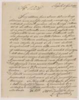 Praga, li 5 Gen.o 1802. Sign.re Riv.mo. Senz'addurre scuse alcune del mio lungo silenzio [incipit]
