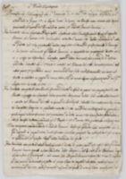 Copia. L'Illma Deputazione. Premessa La Dichiarazione che L'Istromento de' 27. Nov.re 1780 [incipit]