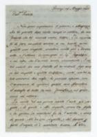 Firenze 25 Maggio 1802. Car.mo Fratello [incipit]